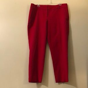 The Limited Red Work Pants